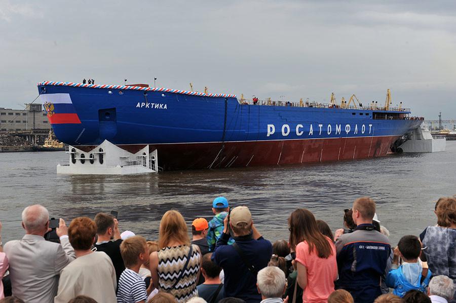 Arktika icebreaker ©Svyatoslav Akimov / Sputnik