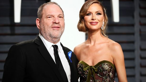 Georgina Chapman announced announced she was leaving Harvey Weinstein after 10 years of marriage.  (Reuters)