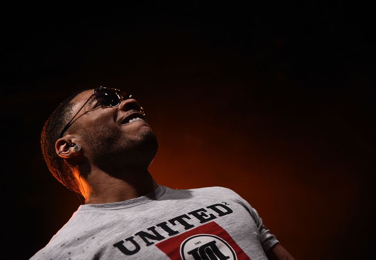 Nelly onstage at Irving Plaza on May 1 in New York City. Michael Loccisano/Getty Images