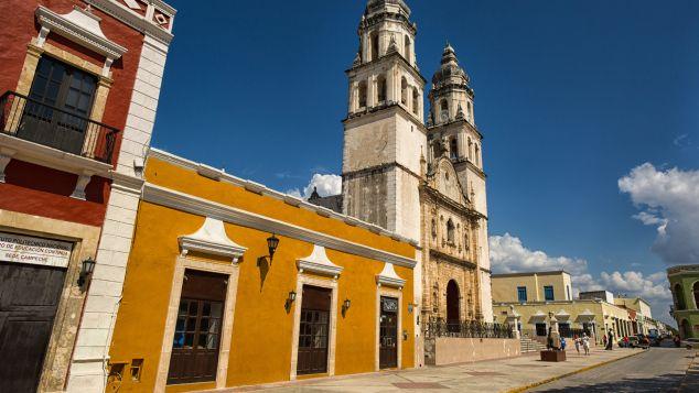 Campeche, Mexico: Shutterstock