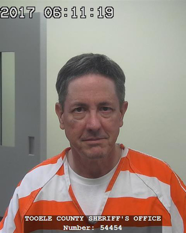 This photograph provided by the Tooele County Sheriff's Office shows Lyle Jeffs. Jeffs ran day-to-day operations for the Fundamentalist Church of Jesus Christ of Latter-Day Saints until 2016, when he was arrested in a food-stamp fraud case. He fled home confinement while awaiting trial and was captured in South Dakota after a year on the run. He faces up to five years in prison.