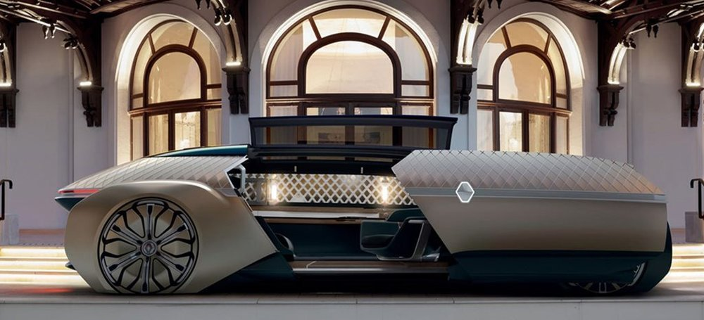 Renault S Ez Ultimo Concept Car Is A Luxury Self Driving Lounge For