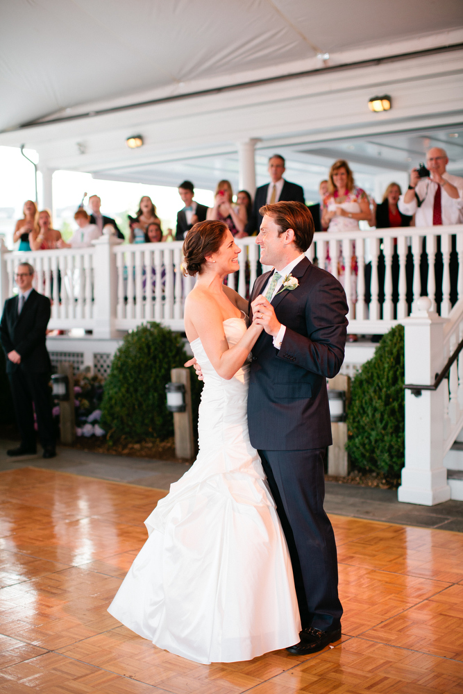 Wedding Reception in Greenwich, CT @ Belle Haven Club