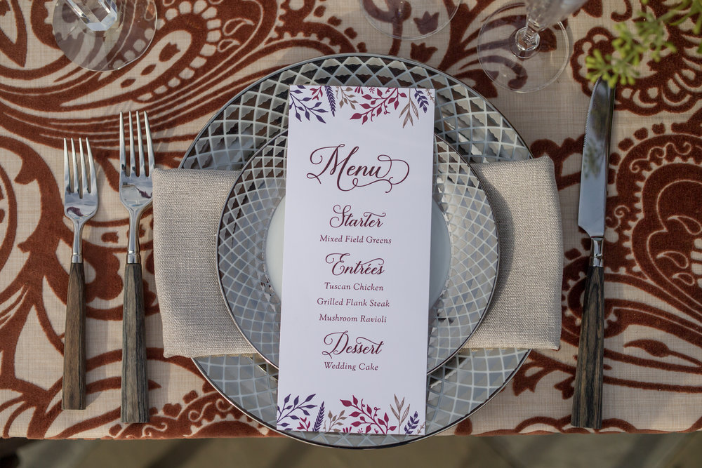 NYC Wedding Planner Ashley Douglass Events at Harvest Moon Farm Orchard with Roseville Designs (menu) Blade NYC Floral Designs
