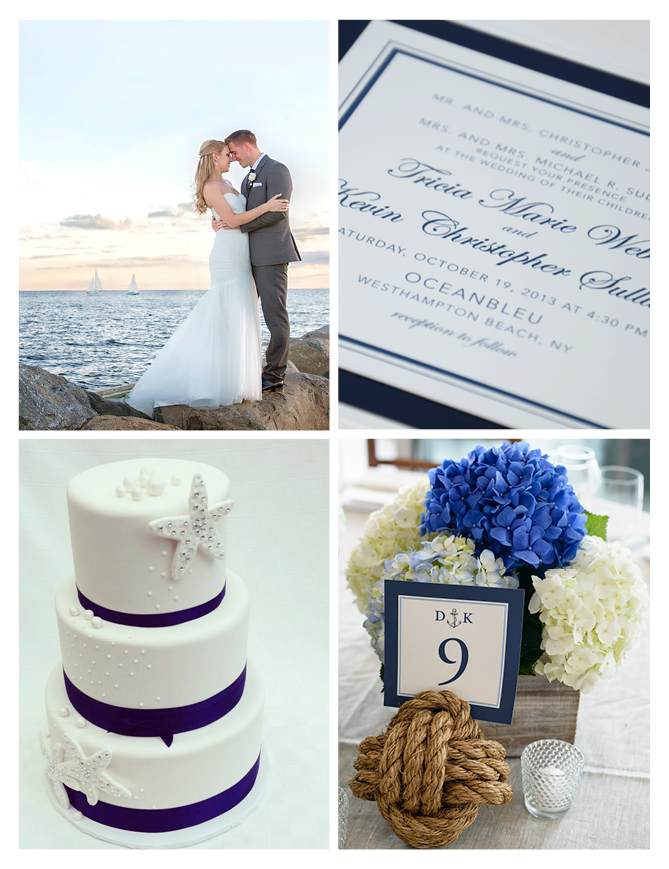 WellWed in the Hamptons - Nautical Wedding Series 2014