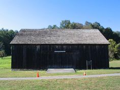 Outside of the tucked away and rustic wedding venue, The George Weir Barn in Lloyd Harbor, Huntington, NY