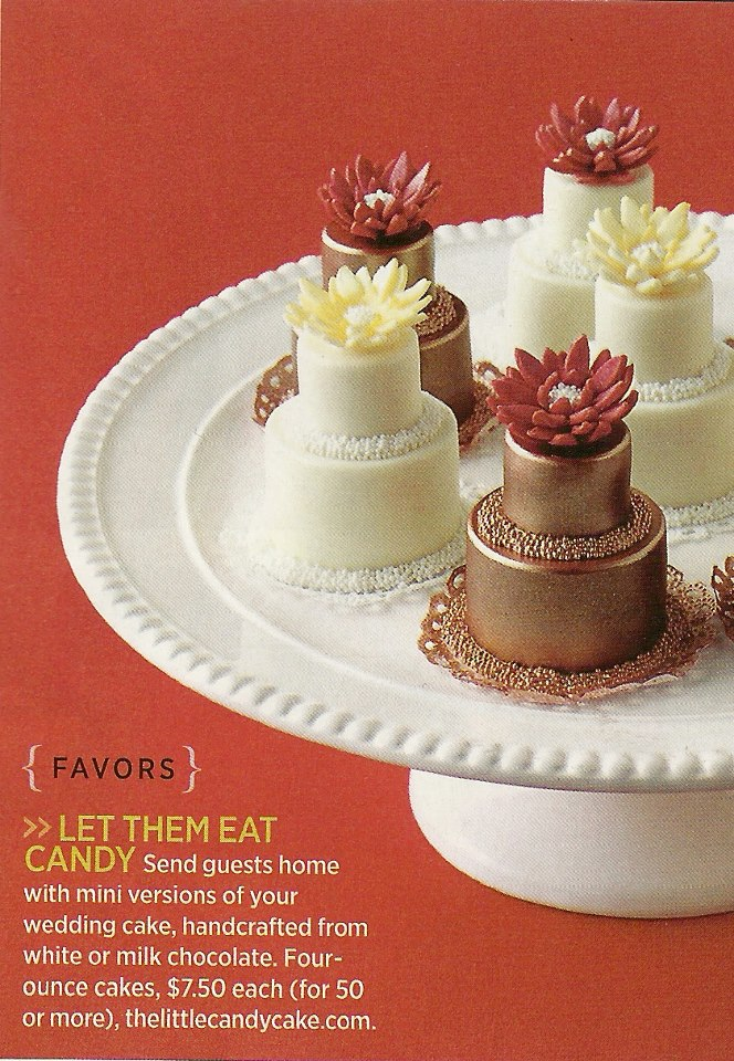 The Little Candy Cake featured in Town & Country