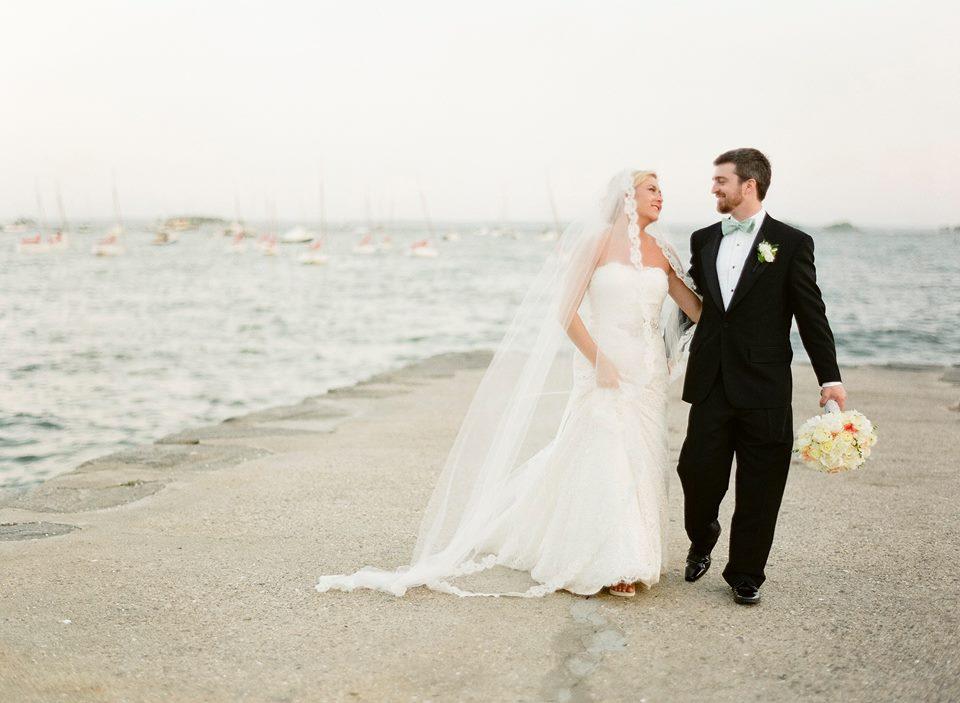 Greenwich Beach, Greenwich Wedding Reception