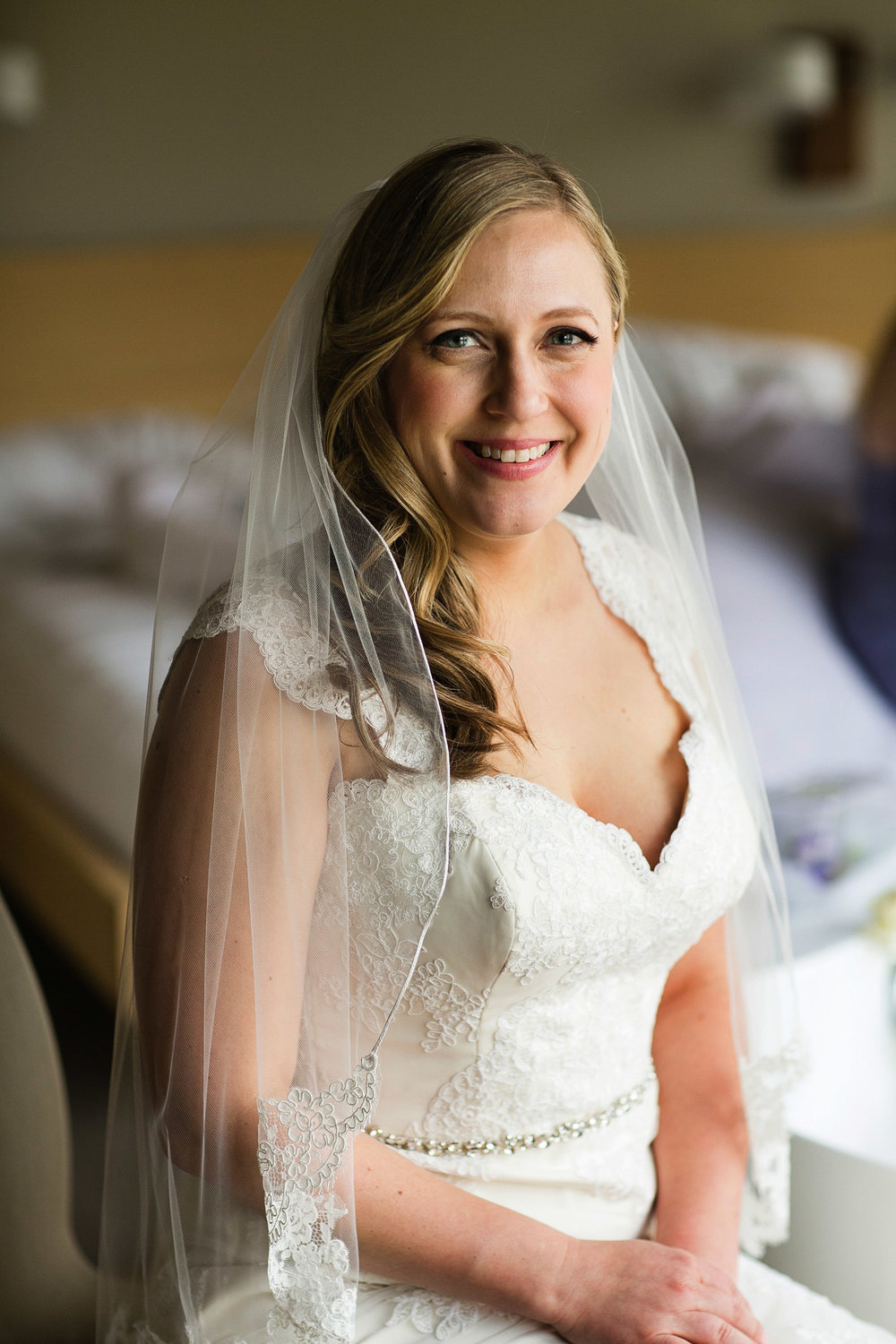 Beautiful, happy bride with Bruce Plotkin Photography.