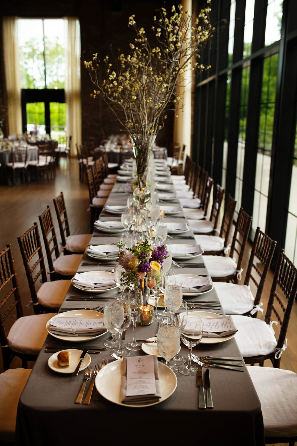 Ashley Douglass Events wedding at Roundhouse Beacon with Bruce Plotkin Photography.