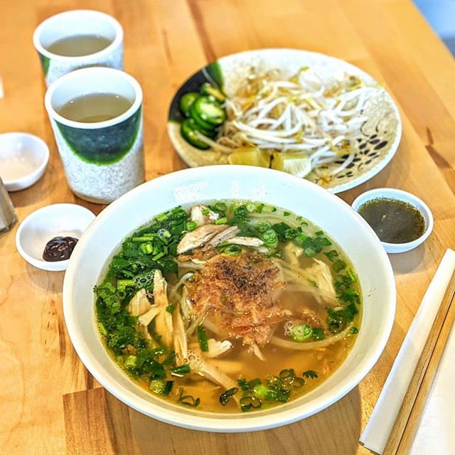 Due to a death in the family, Em will not be serving a special this weekend. Of course our delicious Chicken Pho 🍲 is still the perfect weekend hangover cure⁣ 💯👌 📸: ⁣@eattheworldnyc ⁣ ⁣ ⁣ ⁣ ⁣ #eaterny #timeoutnewyork #devourpower #tastingtable #buzzfeed #insidernewyork #eeeeeats #foodoftheday #forkyeah #foodstagram #foodnetwork #nyceats #newyorkmagazine #seriouseats #lovefood #nomnomnom #nomnom #myfab5 #nycdining #topcitybites  #bensonhurst #heresmyfood #foodadventure #foodiefeature #foodislove #grubstreet