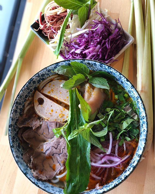 Bun Bo Hue is now an official menu item at Em. Available every Friday to Sunday! 👩‍🍳 🍜 🐮 🐷 💪 🔥 😋 ⁣ ⁣ ⁣ ⁣ ⁣ ⁣ #eaterny #timeoutnewyork #devourpower #tastingtable #buzzfeed #insidernewyork #eeeeeats #foodoftheday #forkyeah #foodstagram #foodnetwork #nyceats #newyorkmagazine #seriouseats #lovefood #nomnomnom #nomnom #myfab5 #nycdining #topcitybites  #bensonhurst #heresmyfood #foodadventure #foodiefeature #foodislove #grubstreet
