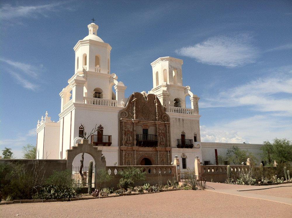 San Xavier del Bac Mission / Tucson, Arizona