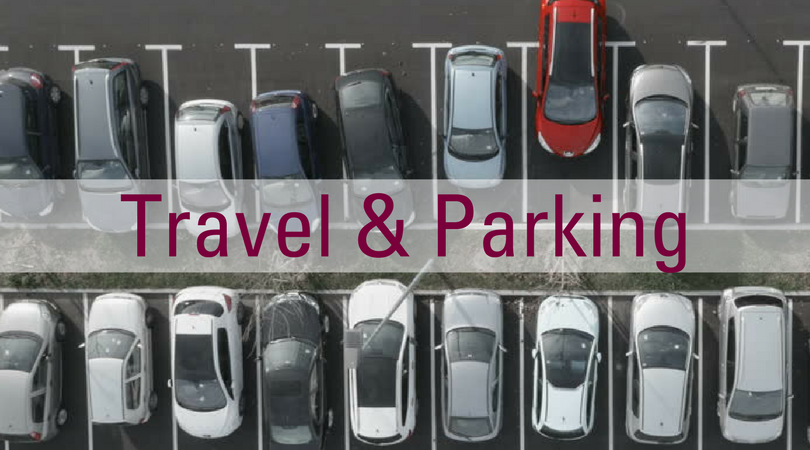 Review our Travel & Parking FAQs