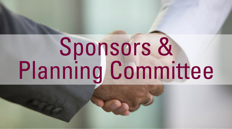 Learn about our Sponsors and Planning Committee
