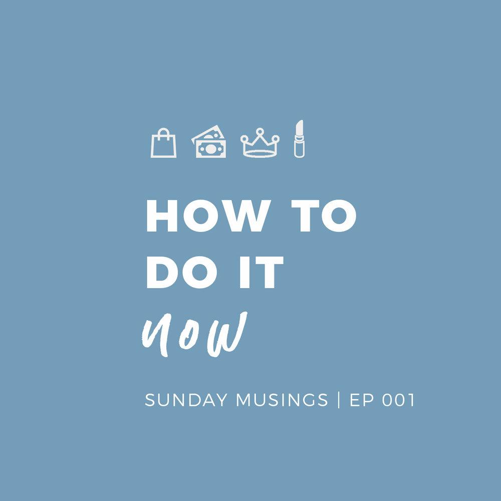 Sunday Musings Podcast