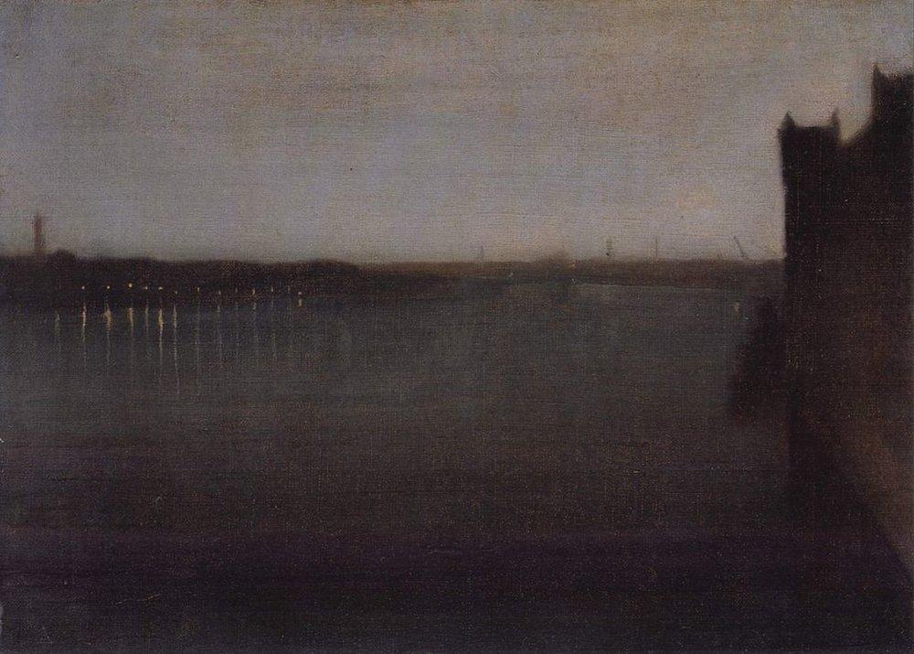 e Deutsch: Nocturne in Grau und Gold, Westminster Bridge