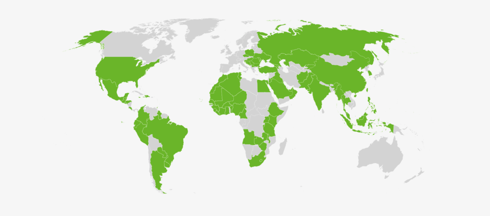 Agland has worked in over 70 countries around the world.