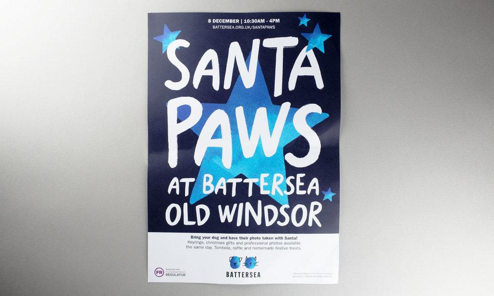 Santa Paws poster