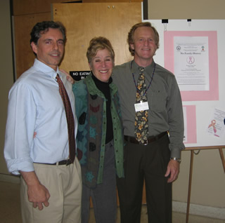 Bob DiBenedetto, President, HealthyPlanet, Karen Miller, HBCAC and Robert Meinke, Greener Country.