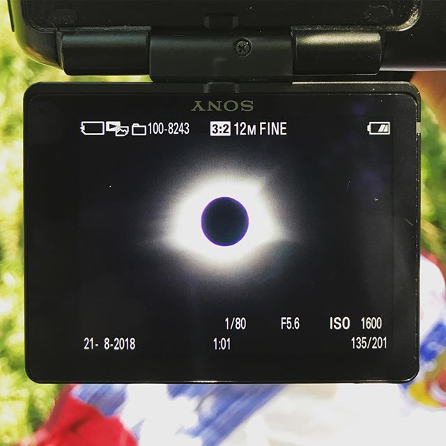 Was it worth it? Yes. Am I still literally shaking with excitement? Yes. . #istilldontknowwhereiam #space #solareclipse #eclipse #solareclipse2017 #sony #dslr #kentucky #cool #photography