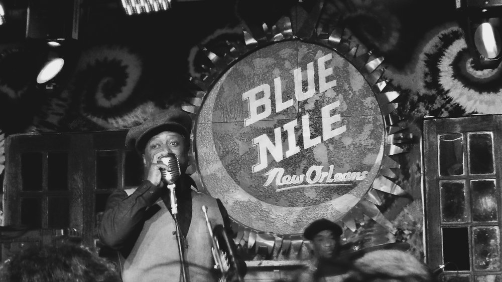 Kermit Ruffins at the Blue Nile on Frenchmen Street