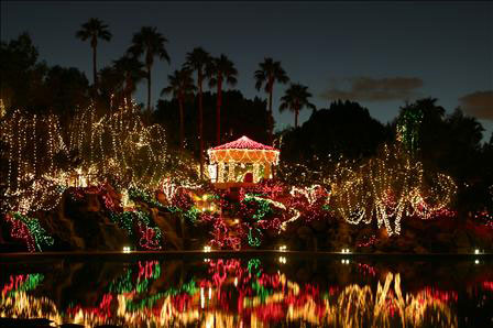 the best christmas lights in gilbert