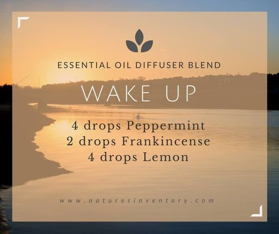 There are dozens of essential oil blends for waking up happy, but how about waking up with energy? Try this wedding morning blend!