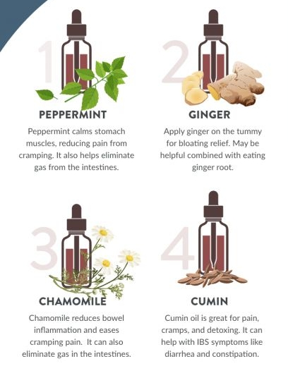 Is your stomach in knots? Perhaps you're feeling bloated on your wedding day? Try these wedding essential oils blends!