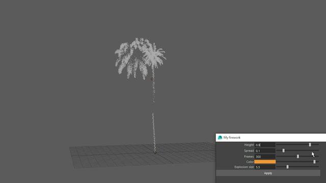 Particle Based Firework Simulation in Maya — W E N N S T R O M