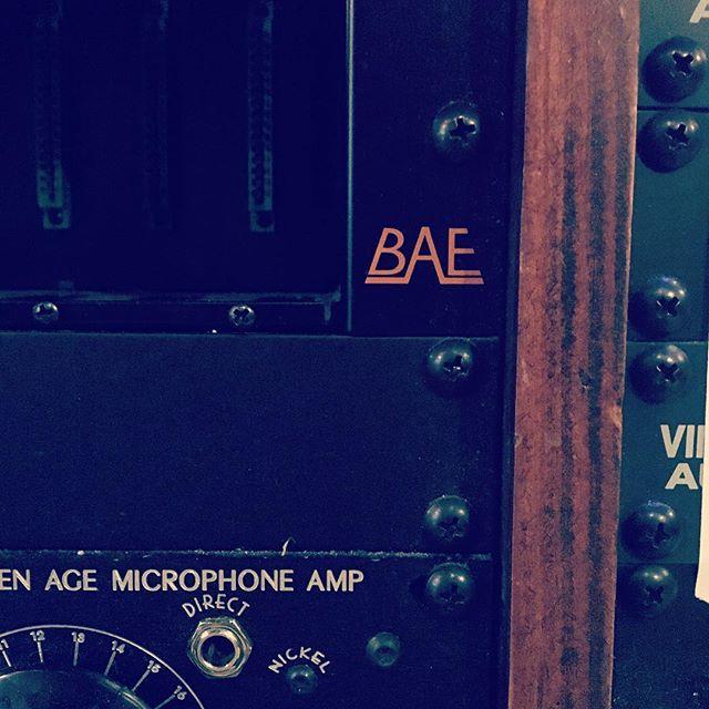 Bae. #bae #orbstudiosatx #microphonecheck #studiolife #gearporn