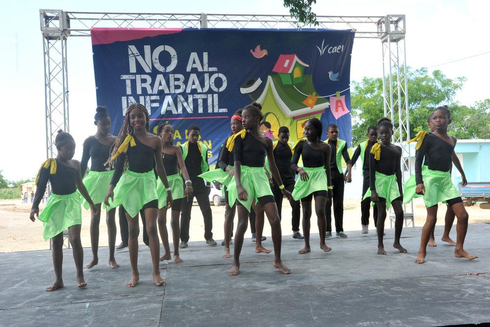 CAEI Celebrates the World Day Against Child Labor by Sensitizing Hundreds of Children