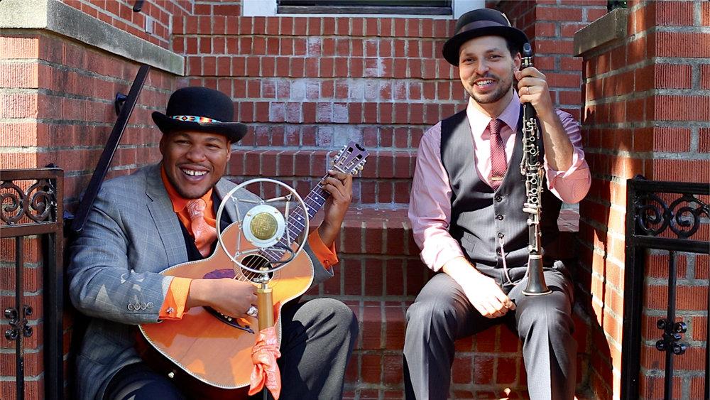 Jerron Paxton and Dennis Lichtman, photo by Sergio Carrasco
