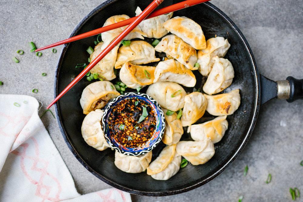Tofu & Kimchi Gyoza