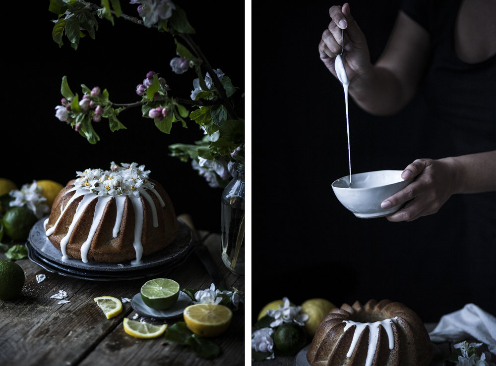 Vegan Lemon Drizzle Bundt Cake