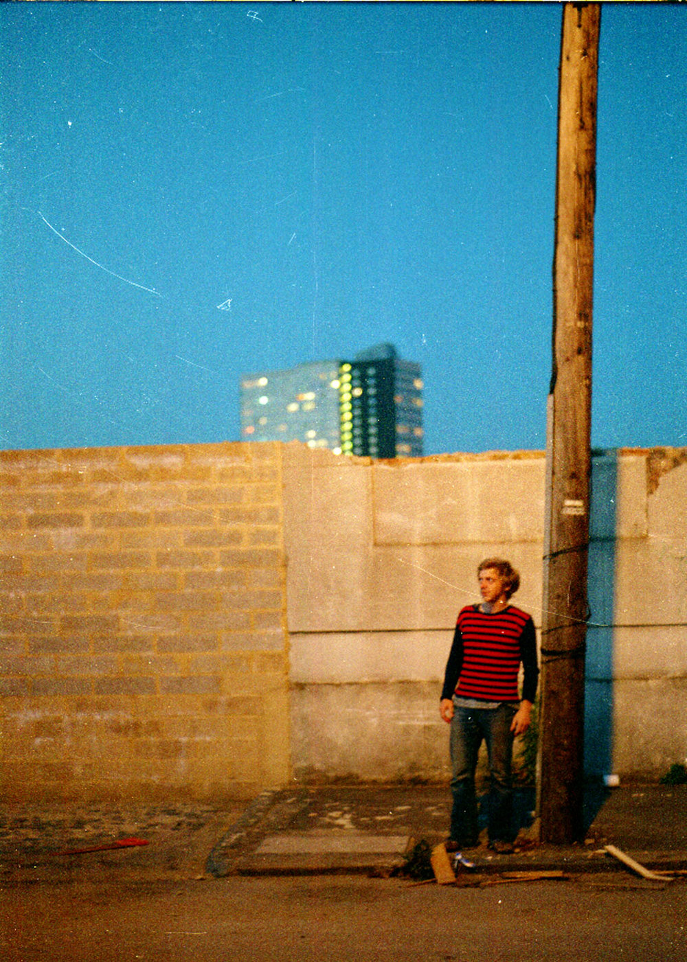 From a series of Night Photographs, Hackney Wick, 2000.