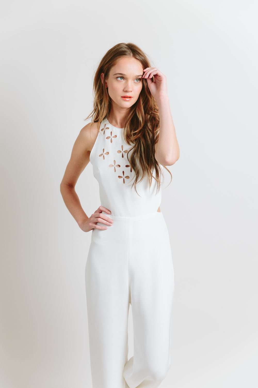 sarah seven bridal pantsuit