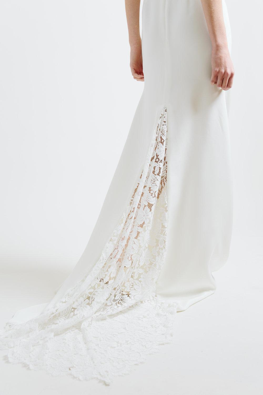 sarah seven lace godet