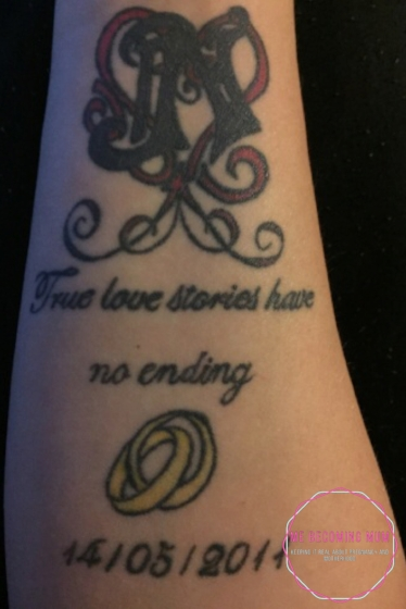 love tattoo © mebecomingmum