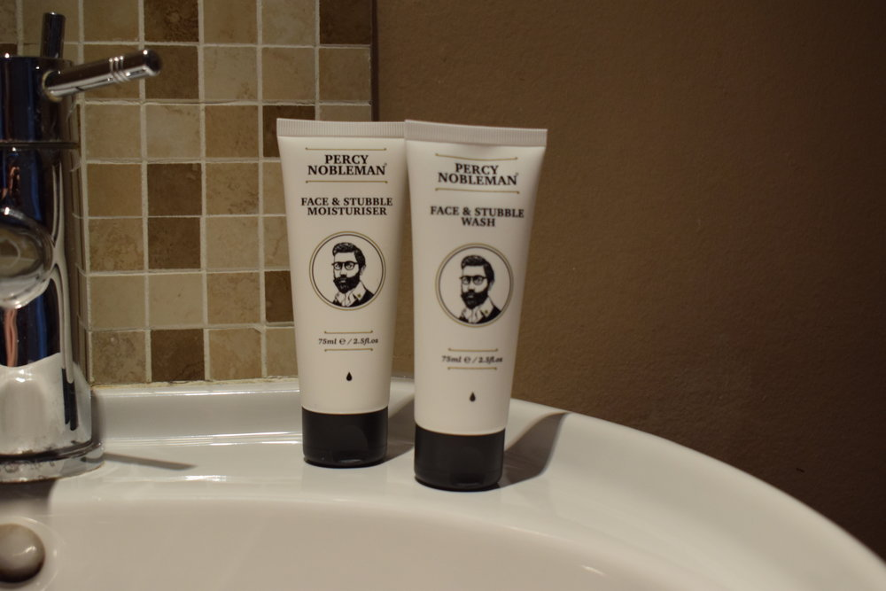 Percy Nobleman Face & Stubble Wash & Moisturiser