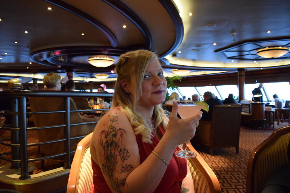 Me Becoming Mum's Cunard Experience / The Commodore Club