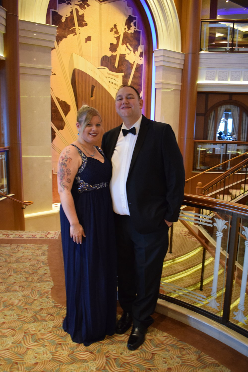 Me Becoming Mum's Cunard Experience / The Masquerade Ball
