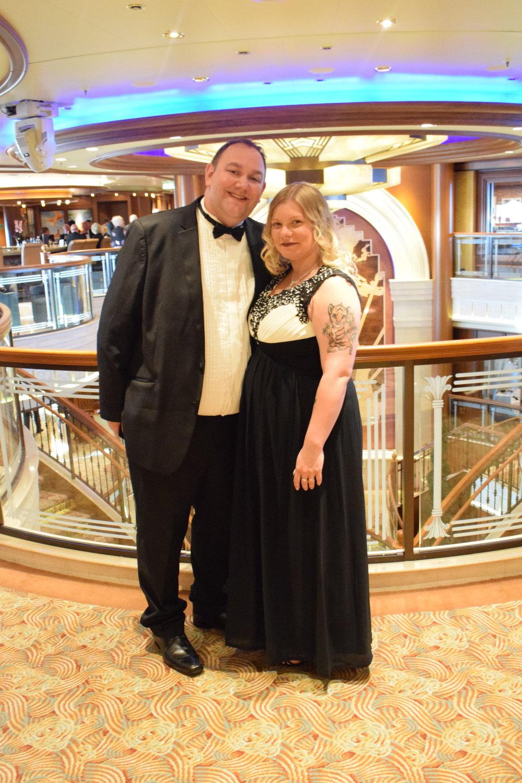 Me Becoming Mum's Cunard Experience / The Starlight Ball