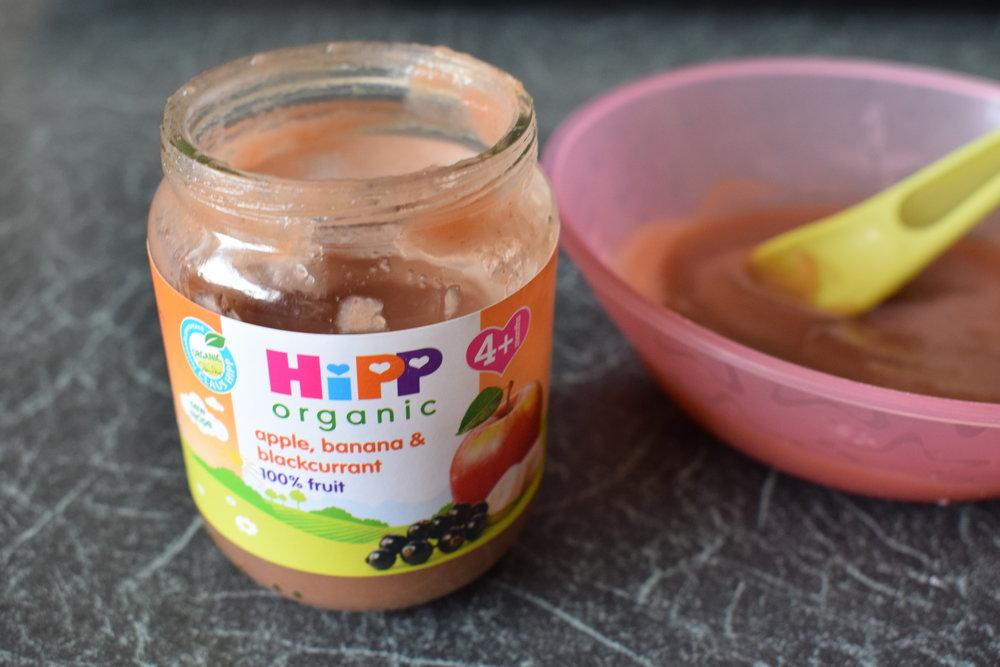 HiPP Organic Apple, Banana and Blackcurrent
