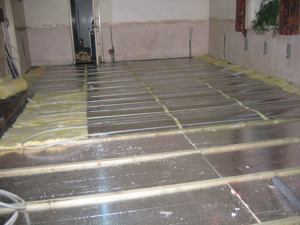 underfloor heating vs radiator heating