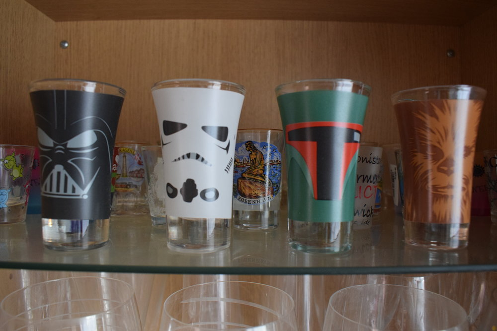 Star Wars shot glasss from Menkind