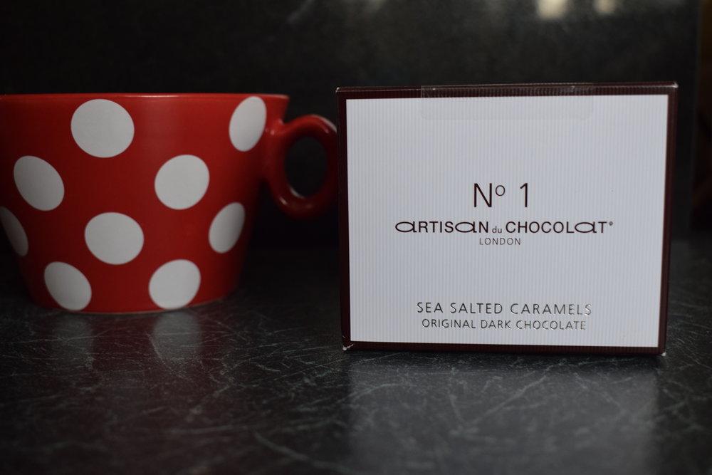 No 1 Artisan du Chocolat London sea salted caramels