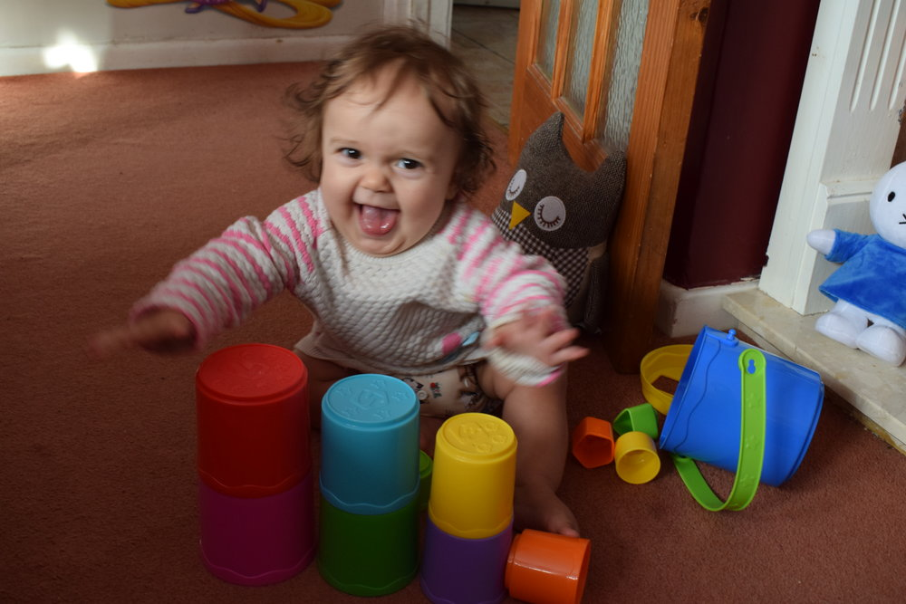 John Lewis stacking cups and shape sorter