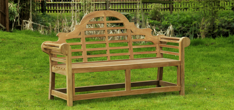 Sloane and Sons Lutyens Garden Bench