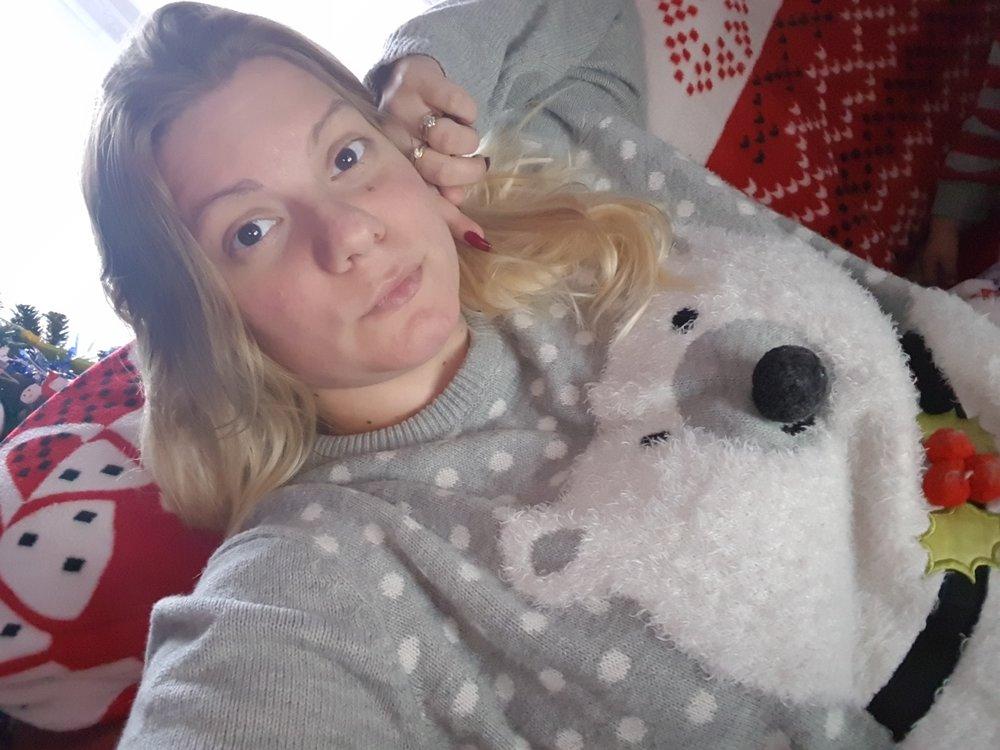 Primark Polar Bear Christmas Jumper